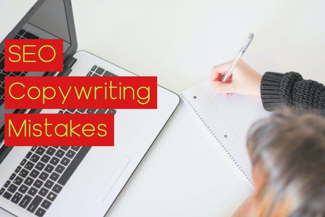 SEO copywriting mistakes