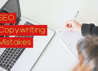 SEO copywriting mistakes
