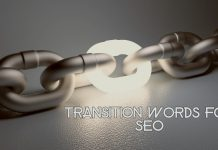 Transition Words for SEO