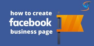 how to create facebook business page