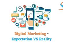Digital Marketing - Expectation VS Reality
